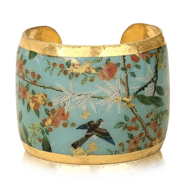 EVOCATEUR Blue Jay Branch Cuff photo