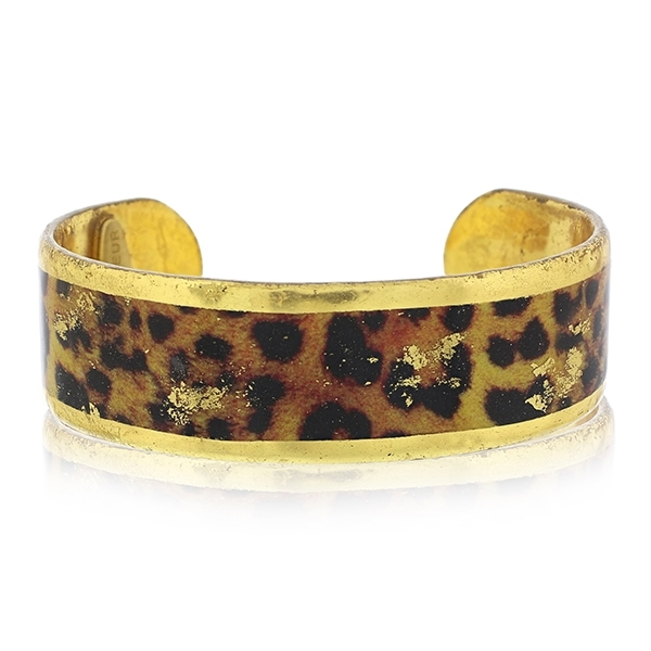 EVOCATEUR Leopard Cuff  photo