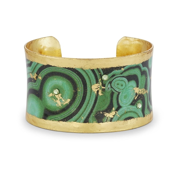 EVOCATEUR Malachite Corset Cuff photo
