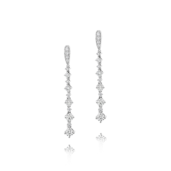 FOREVERMARK Diamond Drop Earrings photo