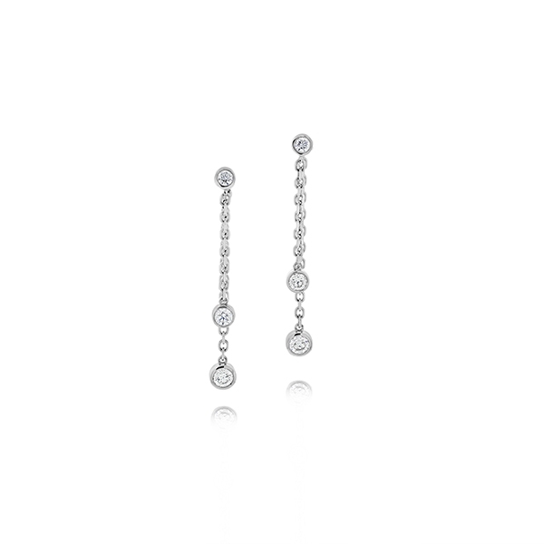FOREVERMARK Tribute Diamond Drop Earrings photo