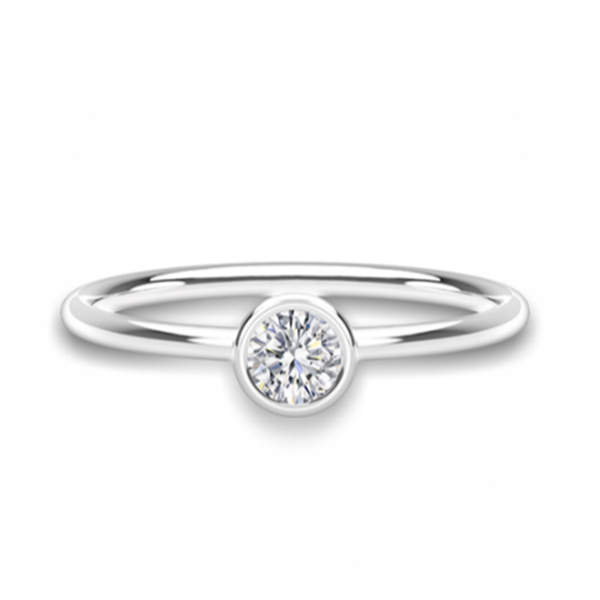 FOREVERMARK Tribute Diamond Stack Ring photo