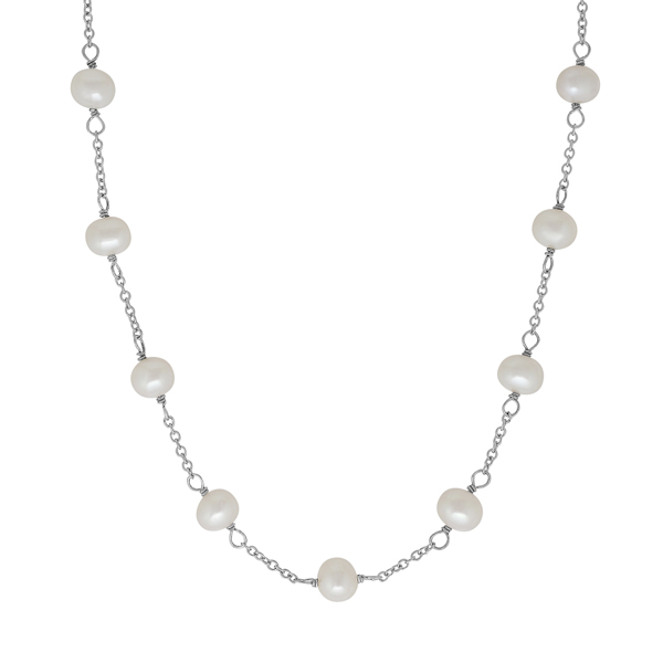 HONORA Kids Pearl Tincup Necklace photo