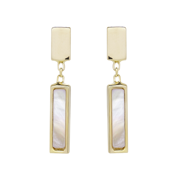 HONORA Mother-of-Pearl Earrings photo