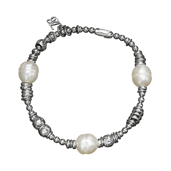 HONORA Pearl Stretch Bracelet photo