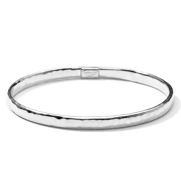 IPPOLITA Classico Flat Hammered Bangle photo