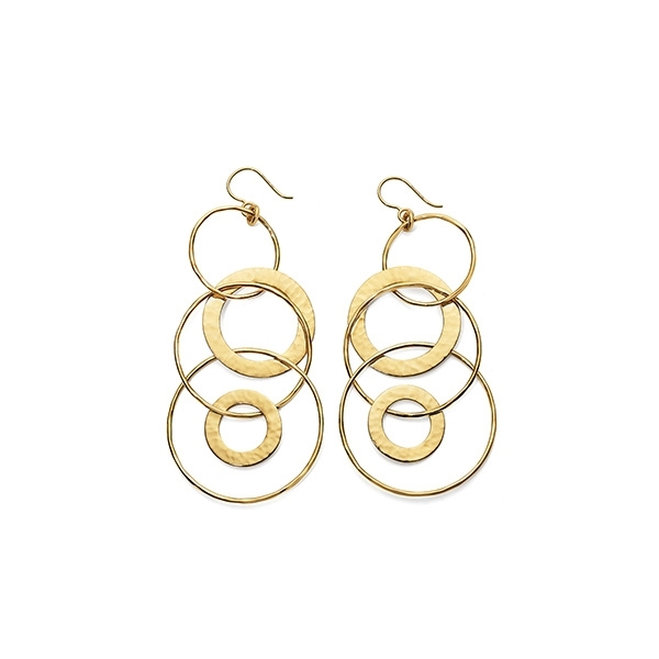 IPPOLITA Classico Jet Set Link Earrings photo