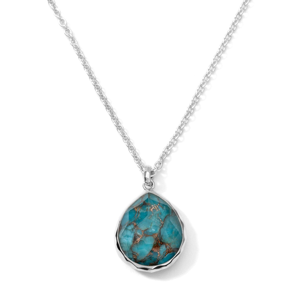 IPPOLITA Rock Candy Bronze Turquoise Doublet Necklace photo