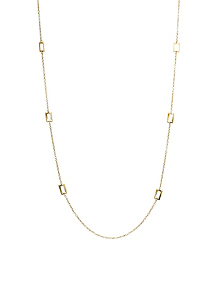IPPOLITA Rose Rock Candy Lollipop Station Necklace in Clear Quartz photo