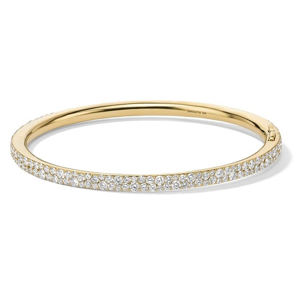IPPOLITA Stardust Hinged Diamond Bangle photo