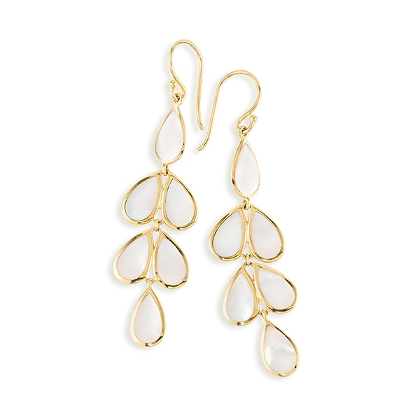 IPPOLITA Teardrop Cascade Earrings in Mother-of-Pearl photo