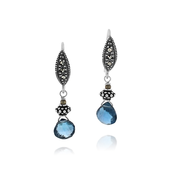 JILL DUZAN Briolette Earrings photo