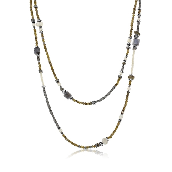 JILL DUZAN Cactus Silverite Necklace photo