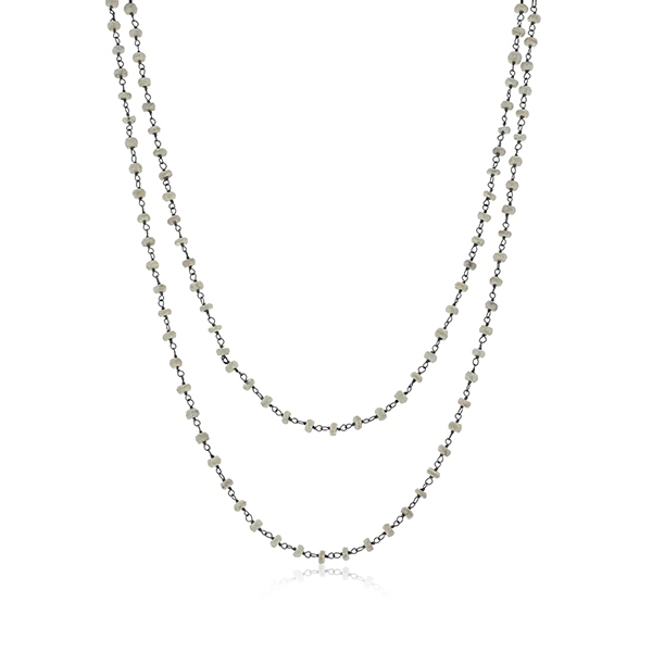 JILL DUZAN Silverite Necklace photo