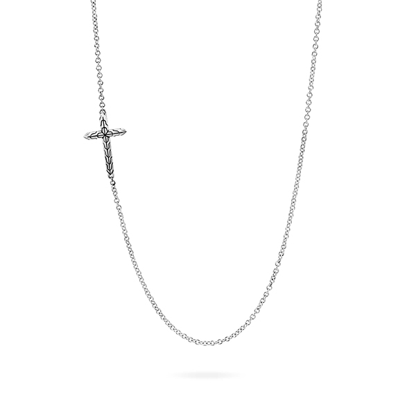 JOHN HARDY Classic Chain Cross Necklace photo