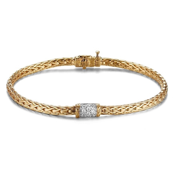 JOHN HARDY Classic Chain Diamond Bracelet photo