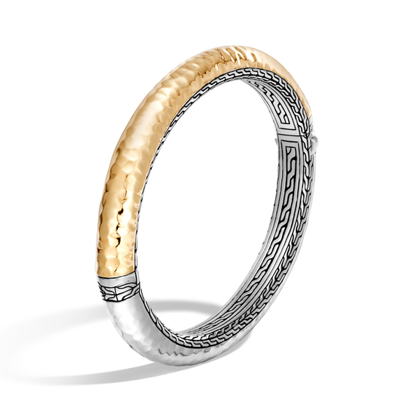 JOHN HARDY Classic Chain Hammered Bangle photo