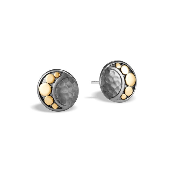 JOHN HARDY Dot Moon Phase Stud Earrings photo