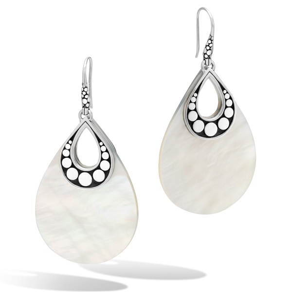 JOHN HARDY Dot Mother-of-Pearl Earrings photo