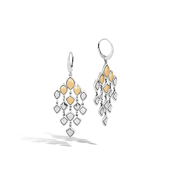 JOHN HARDY Legends Naga Chandelier Earrings photo