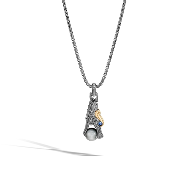 JOHN HARDY Legends Naga Eagle Eye Necklace photo