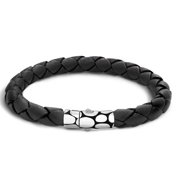 John Hardy Men S Kali Leather Bracelet