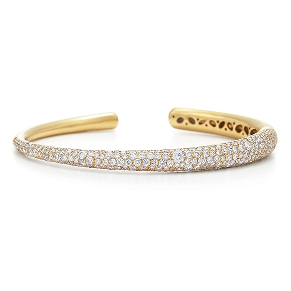 KWIAT Cobblestone Pave Diamond Cuff photo