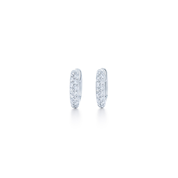 KWIAT Diamond Huggie Earrings photo
