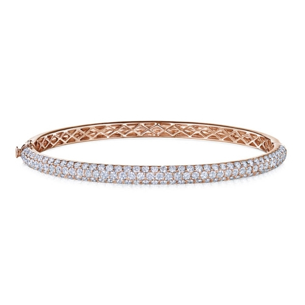KWIAT Moonlight Pave Diamond Bangle photo
