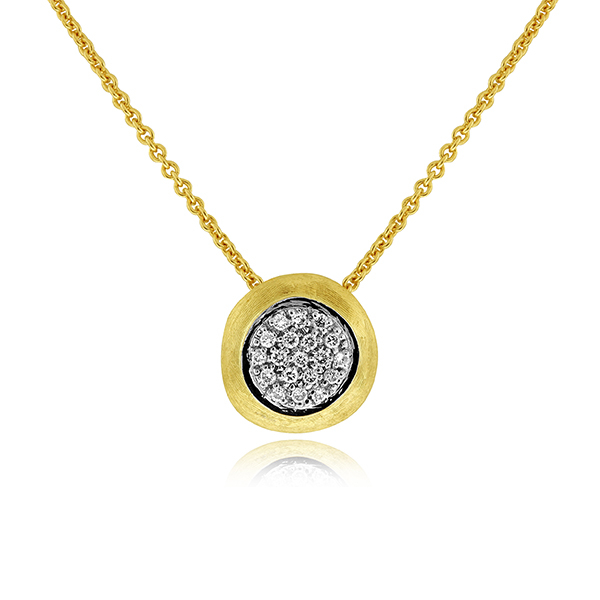 MARCO BICEGO Delicati Diamond Pendant photo