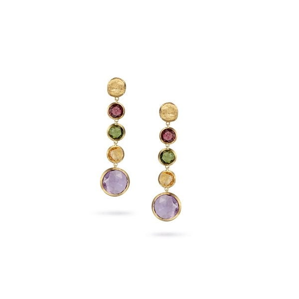 MARCO BICEGO Jaipur Mixed Gemstone Earrings photo