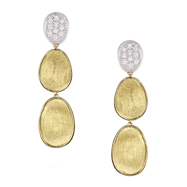 MARCO BICEGO Lunaria Diamond Earrings photo