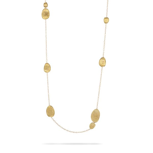 MARCO BICEGO Lunaria Station Necklace photo