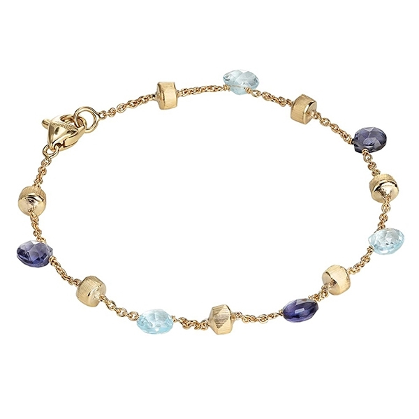 MARCO BICEGO Paradise Iolite and Topaz Bracelet photo