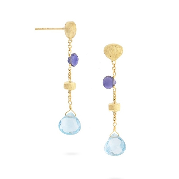 MARCO BICEGO Paradise Iolite and Topaz Earrings photo
