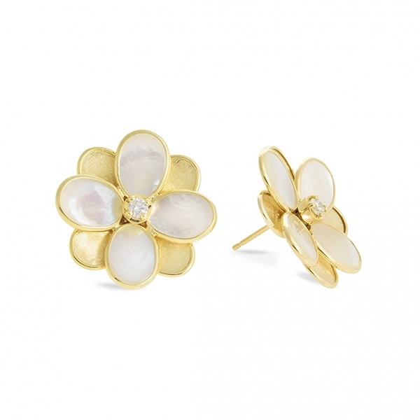 MARCO BICEGO Petali Mother of Pearl Stud Earrings photo