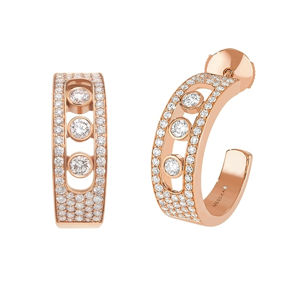 MESSIKA Move Joaillerie Diamond Hoops photo