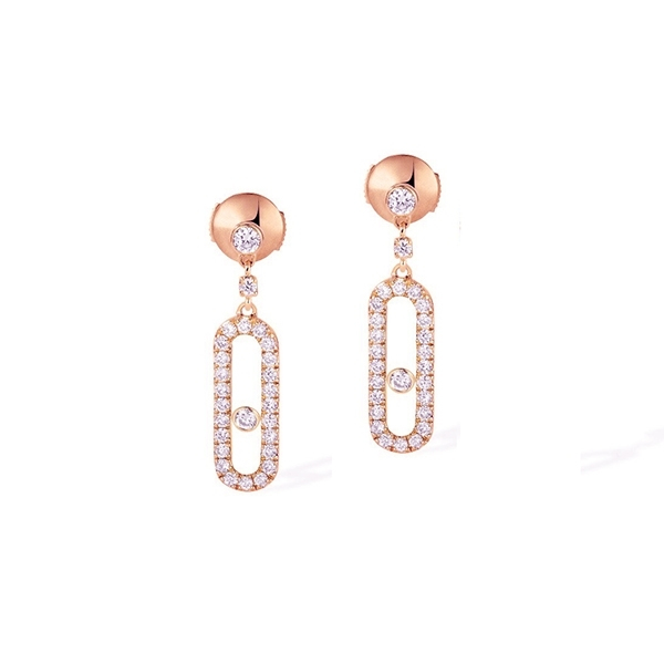 MESSIKA Move Uno Diamond Earrings photo