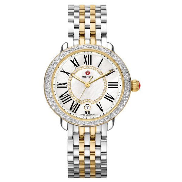 059385e26e1 MICHELE Serein 16 Diamond Watch