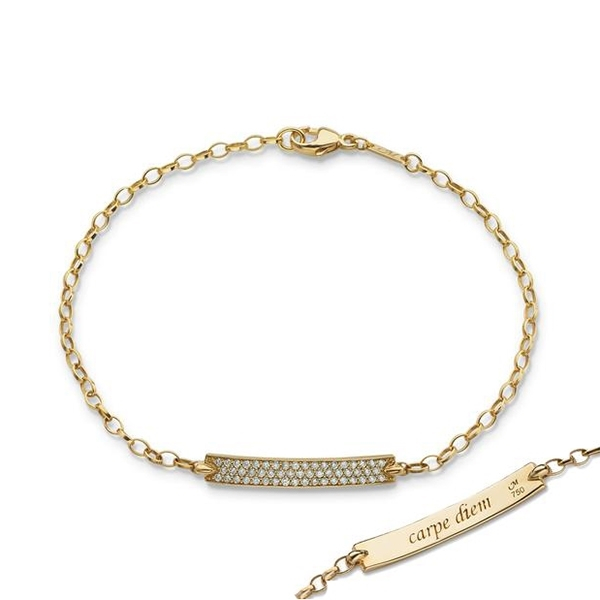MONICA RICH KOSANN Posey Diamond Bracelet photo
