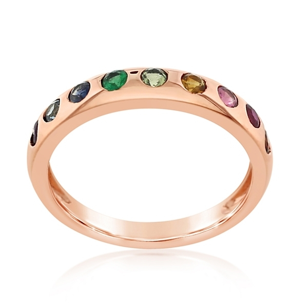 MY STORY Melody Rainbow Ring photo
