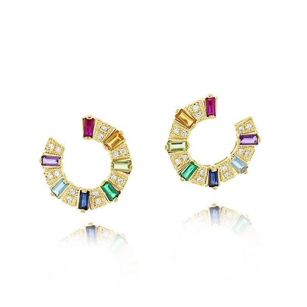 MY STORY Meredith Rainbow Earrings photo