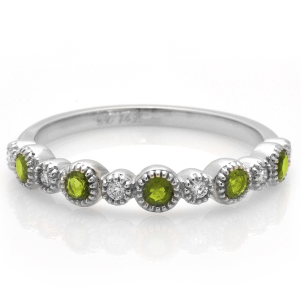 MY STORY Peridot & Diamond Ring photo
