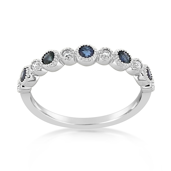 MY STORY Sapphire & Diamond Ring photo