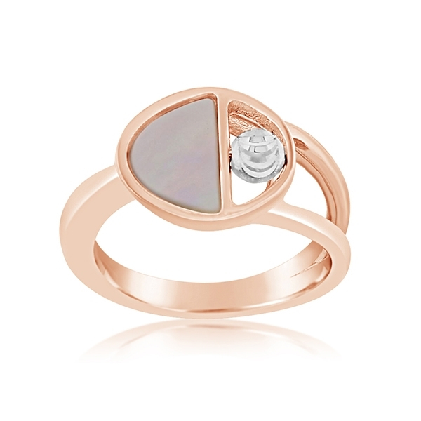 OFFICINA BERNARDI Aurora Mother-of-Pearl Ring photo