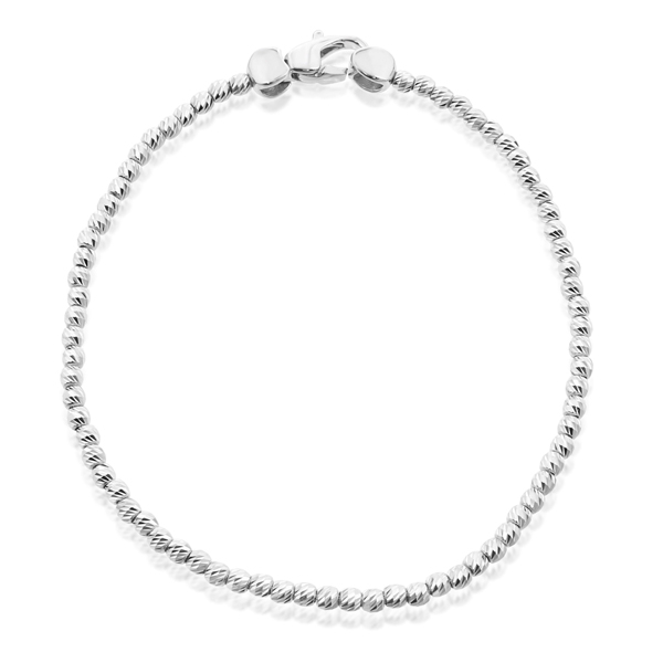 OFFICINA BERNARDI Silver Beaded Bracelet photo