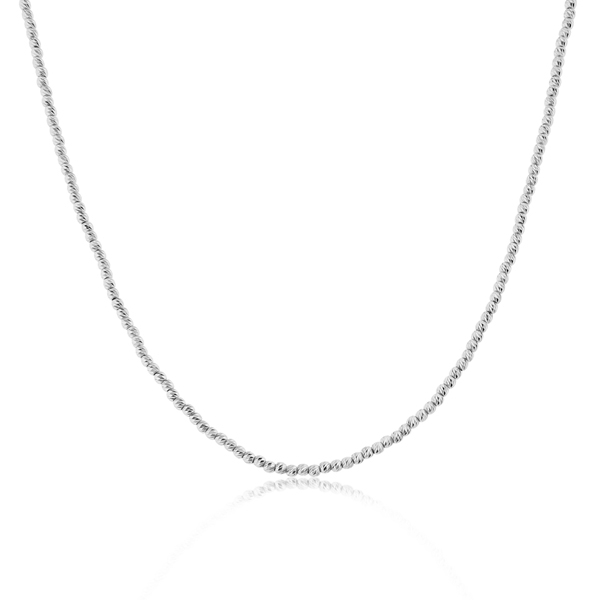 OFFICINA BERNARDI Silver Beaded Necklace photo