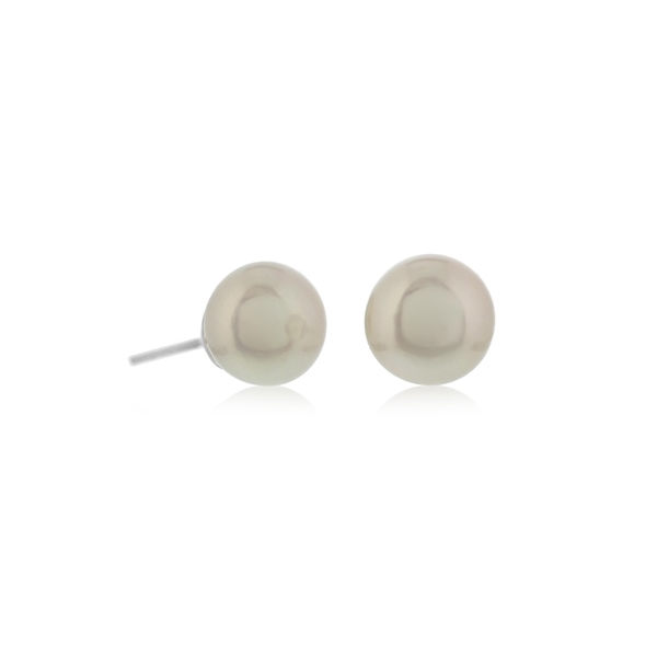 Pearl Stud Earrings photo