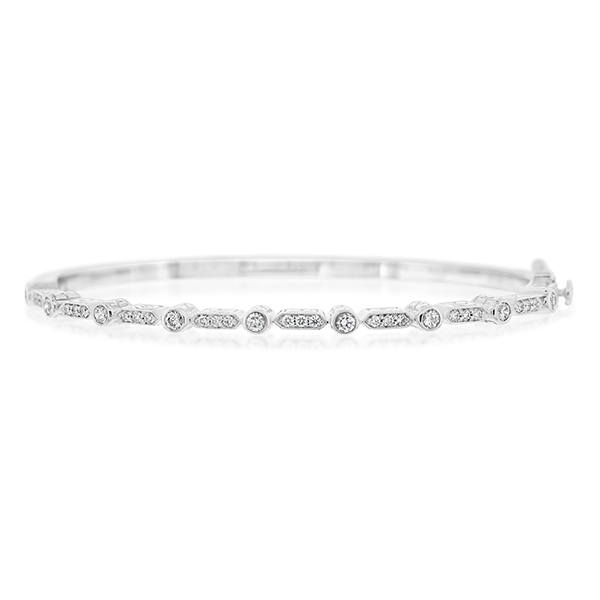 PENNY PREVILLE Diamond Bangle photo