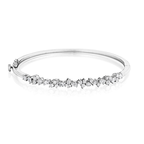 PENNY PREVILLE Diamond Cluster Bangle photo